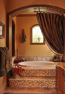 Elegant Gorgeous Tuscan Style Bathroom