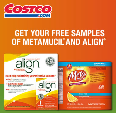 graphic about Metamucil Coupons Printable known as Totally free $$ Pattern of Metamucil and Align for Costco Participants