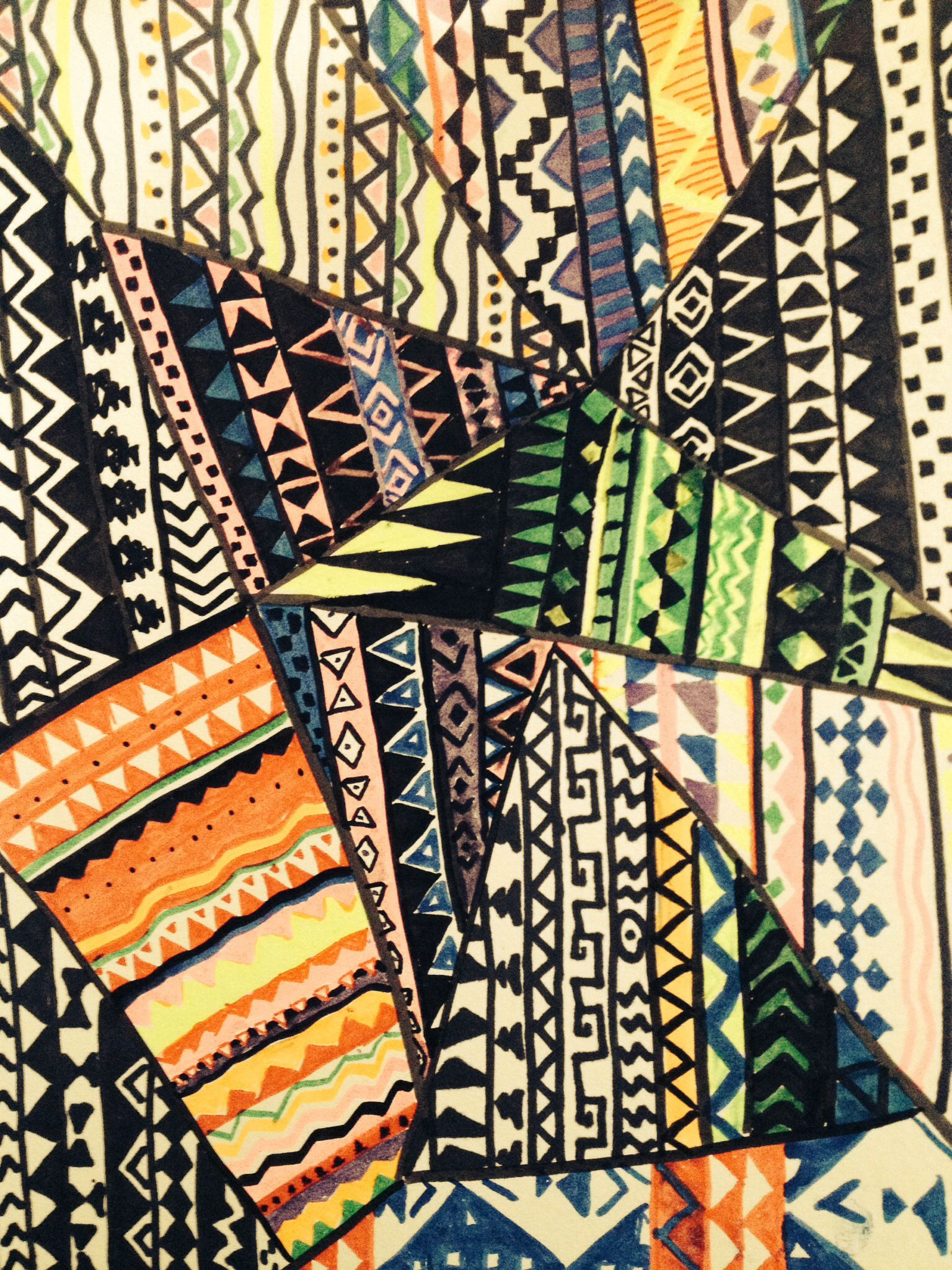 I'm obsessed with Aztec patterns!