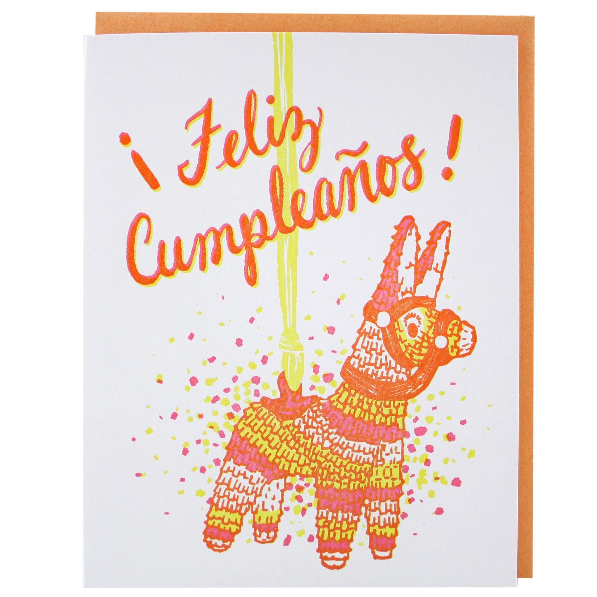 Feliz Cumpleaos Birthday Card Happy Birthday Greetings Birthdays