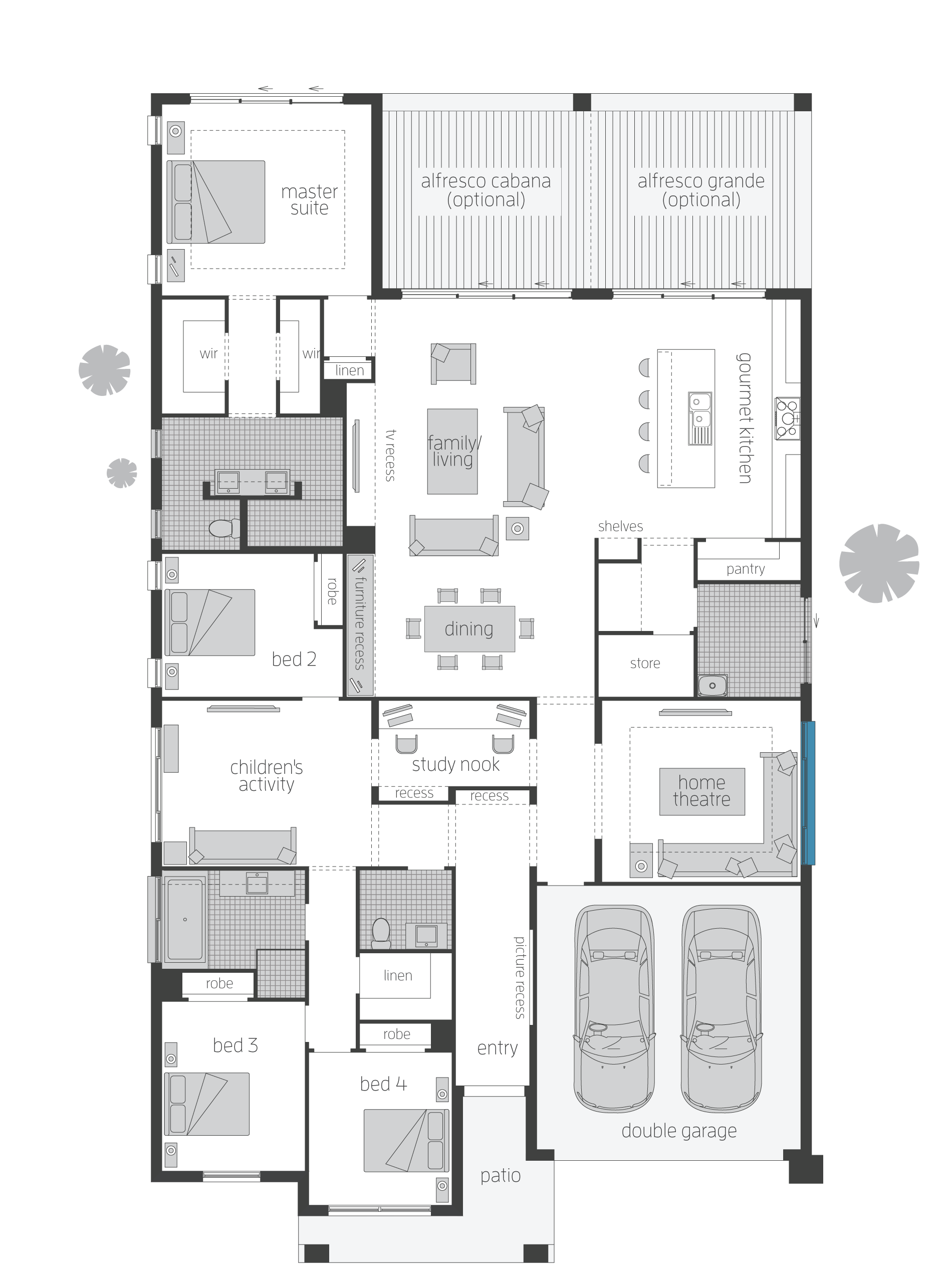 Miami Floorplans Floor Plans New House Plans Home Design Plans