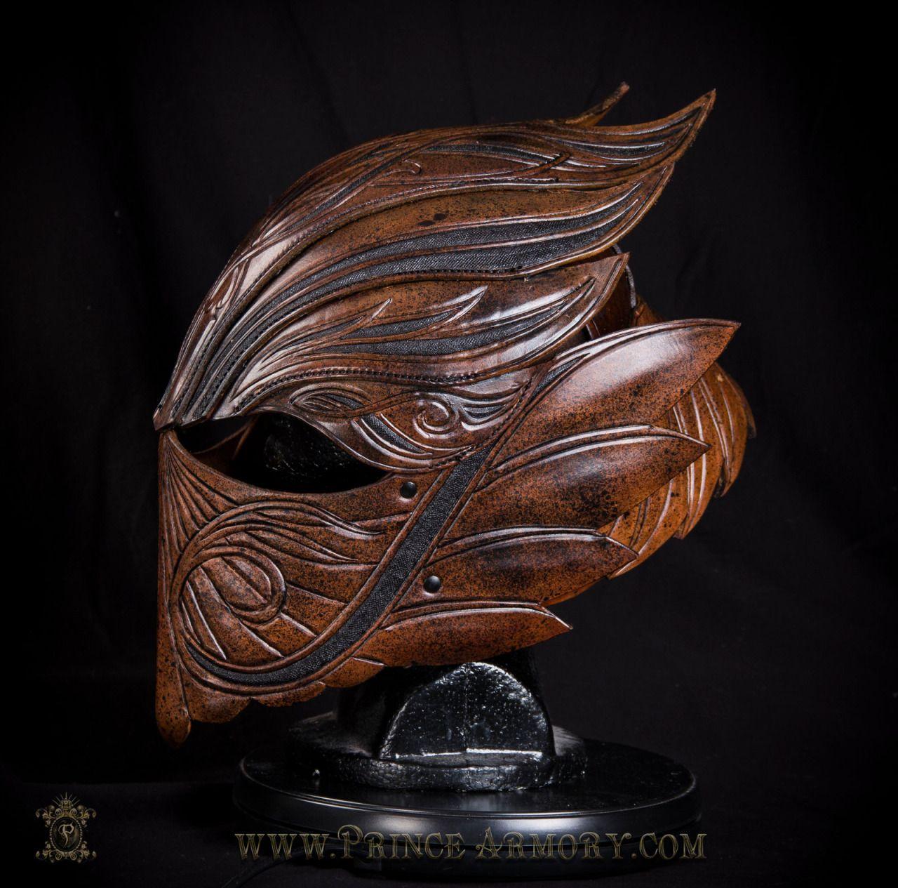 tumblarping:  Elven Rogue Leather Helmet (2) by Azmal