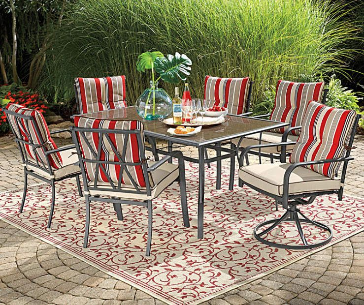 Wilson Fisher Sierra Patio Furniture Collection At Big Lots Affordable Outdoor Furniture Patio Furniture Collection Outdoor Rugs Patio