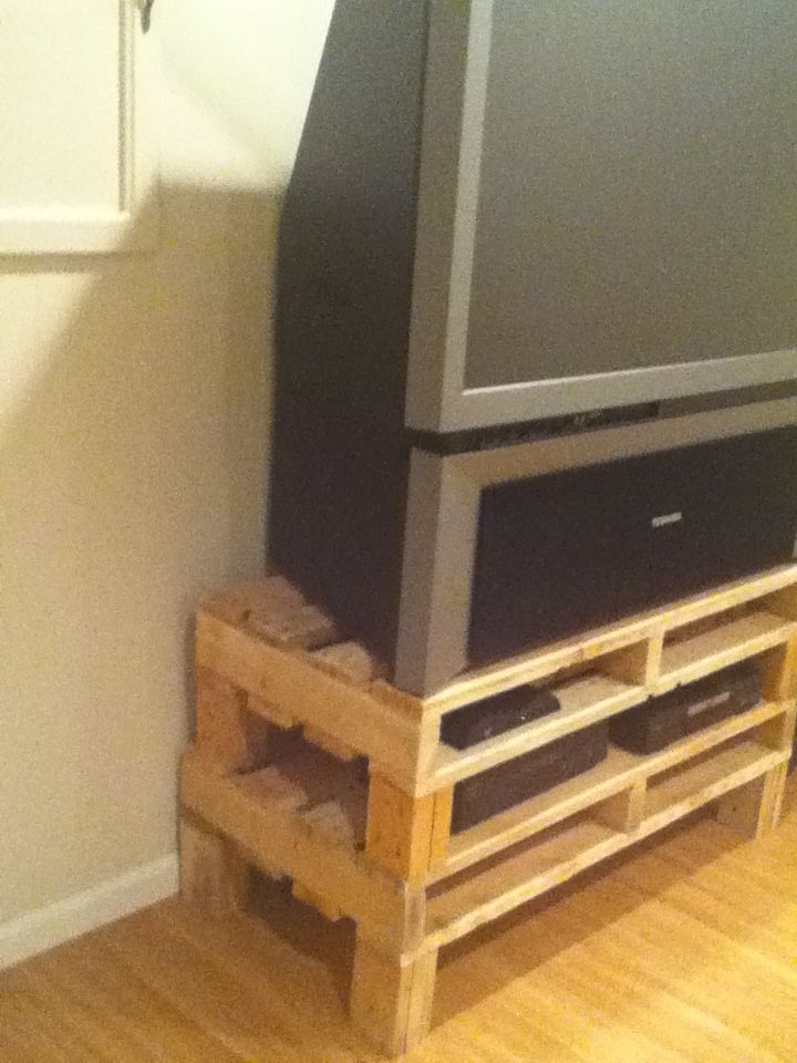 Pallet Tv Stand Pallet Furniture Furniture Home Decor