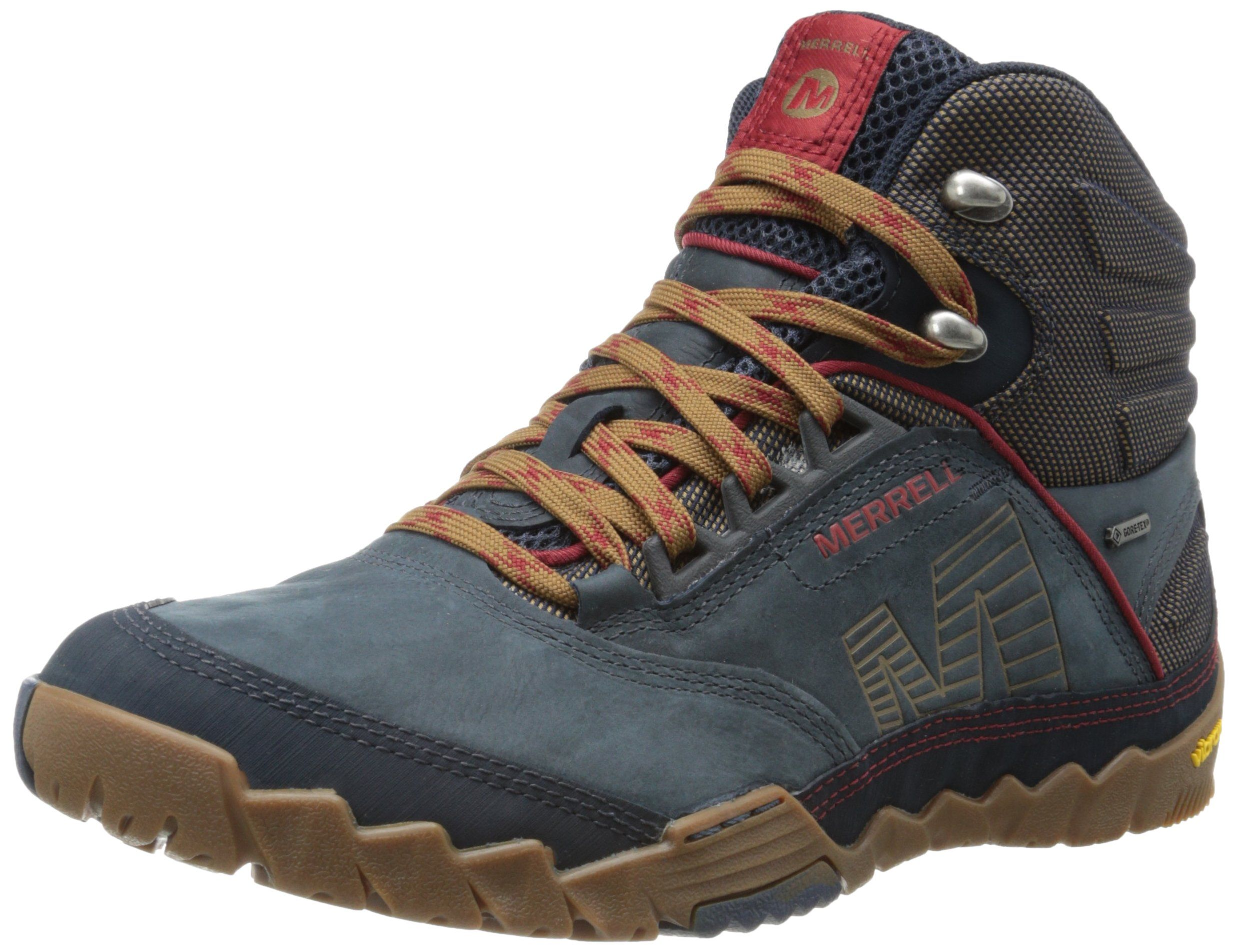 7ba8d658e41ee Merrell Men's Annex Mid Gore-Tex Boot,Blue Wing,7.5 M US | Kicks in ...
