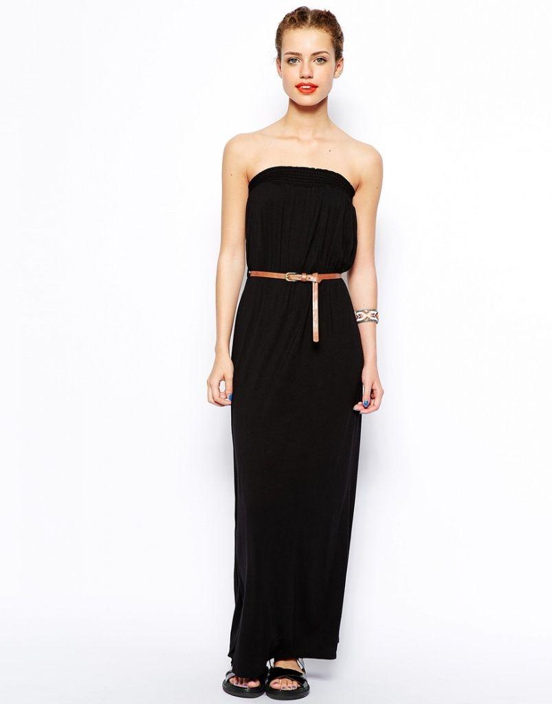 73d2b454a15e7 robe longue noire bustier pas cher - la robe longue