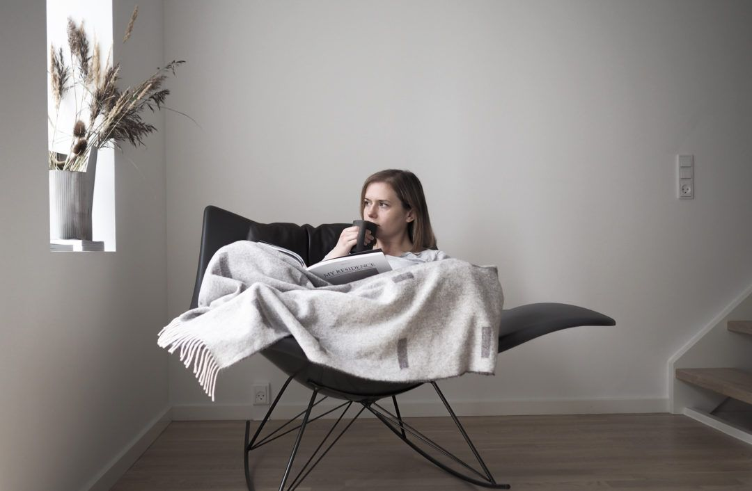 The Stingray rocker chair Designed by Thomas Pedersen for