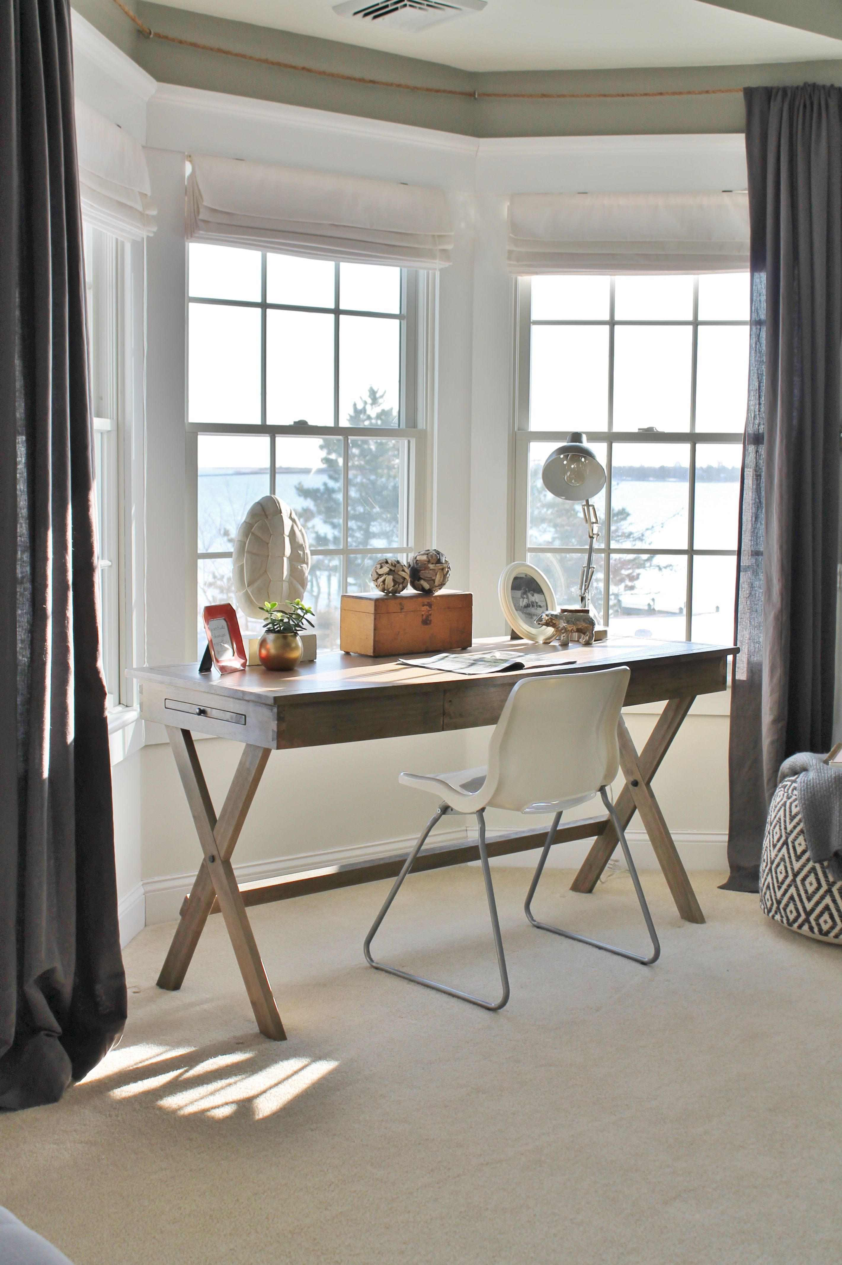 Mesmerizing Window Design For Small House To Be Inspired By: Rustic Chic Mini Master Reveal-My Desk