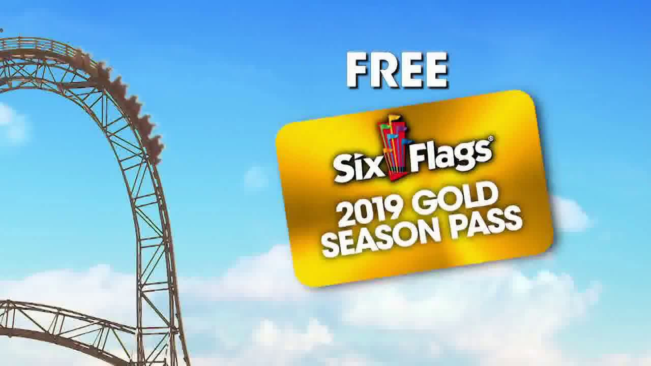 Six Flags Spring Sale Blow You Away 2019 Season Pass Ad Commercial On Tv 2019 Spring Sale Six Flags Tv Commercials