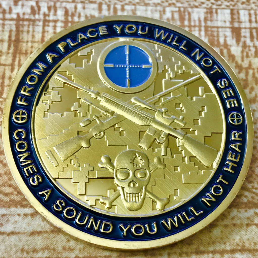 Toys car rupees  Sniper Challenge Coin  Challenge Coins  Pinterest  Challenge