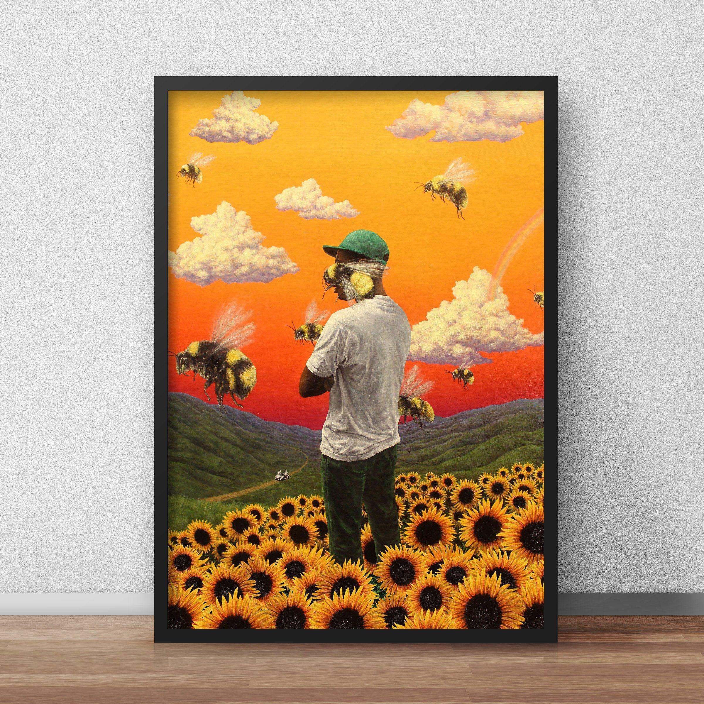 7d404d3ea4c3e8 Tyler the Creator Flower Boy Poster