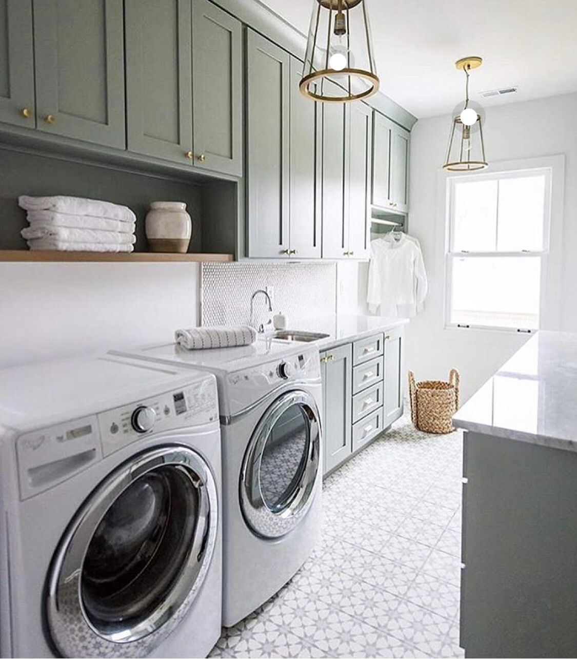 love the color of the cabinetry pantry laundry room on extraordinary small laundry room design and decorating ideas modest laundry space id=58066