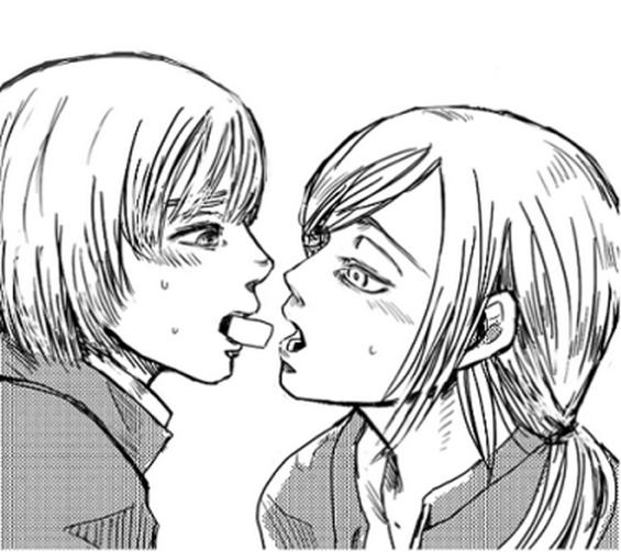 Armin x Christa