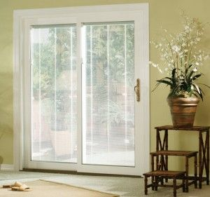 Sliding Glass Doors With Built In Blinds My Friend Just Had