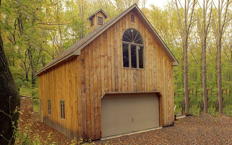 pole barn garage apartment | 001) 24\' x 30\' garage pole building ...
