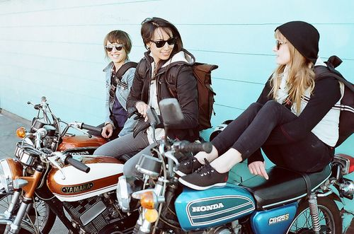 I would love to go on an epic journey across the country with my best friends on our motorcycles.