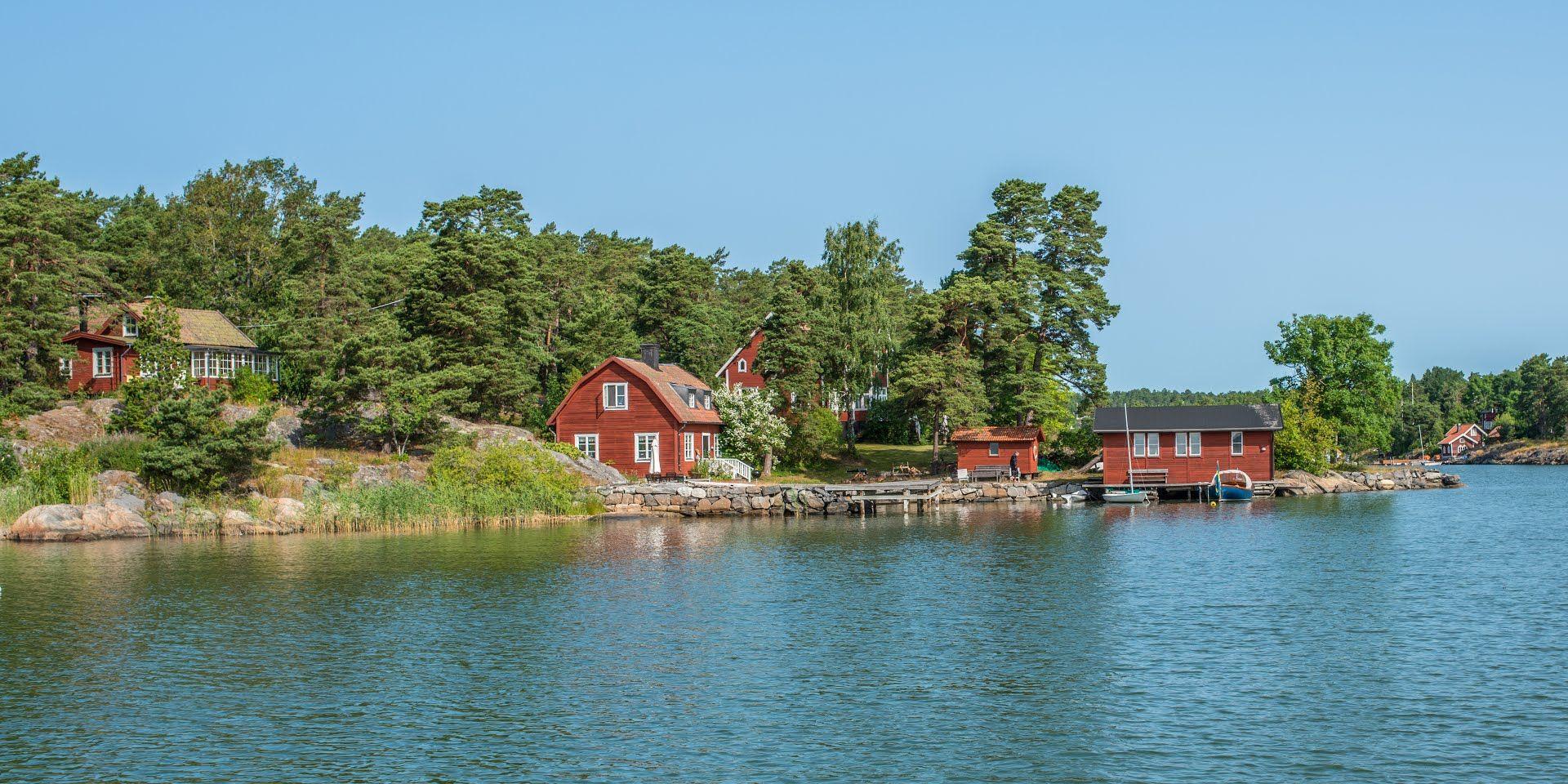 BengtENyman - Tyresö, Saltsjöbaden waterfronts Stockholm.