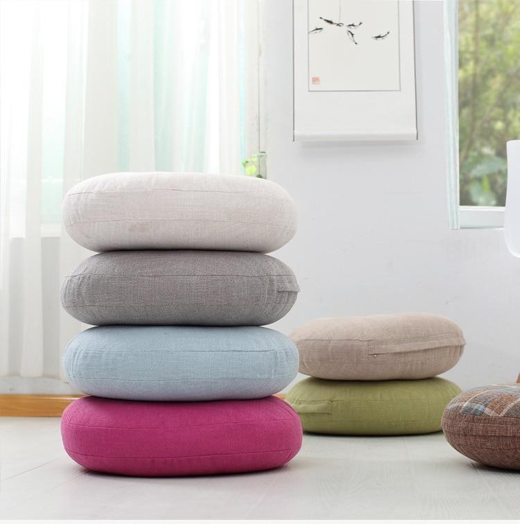 Asuka Round Floor Pillow Round Floor Pillow Floor Pillows