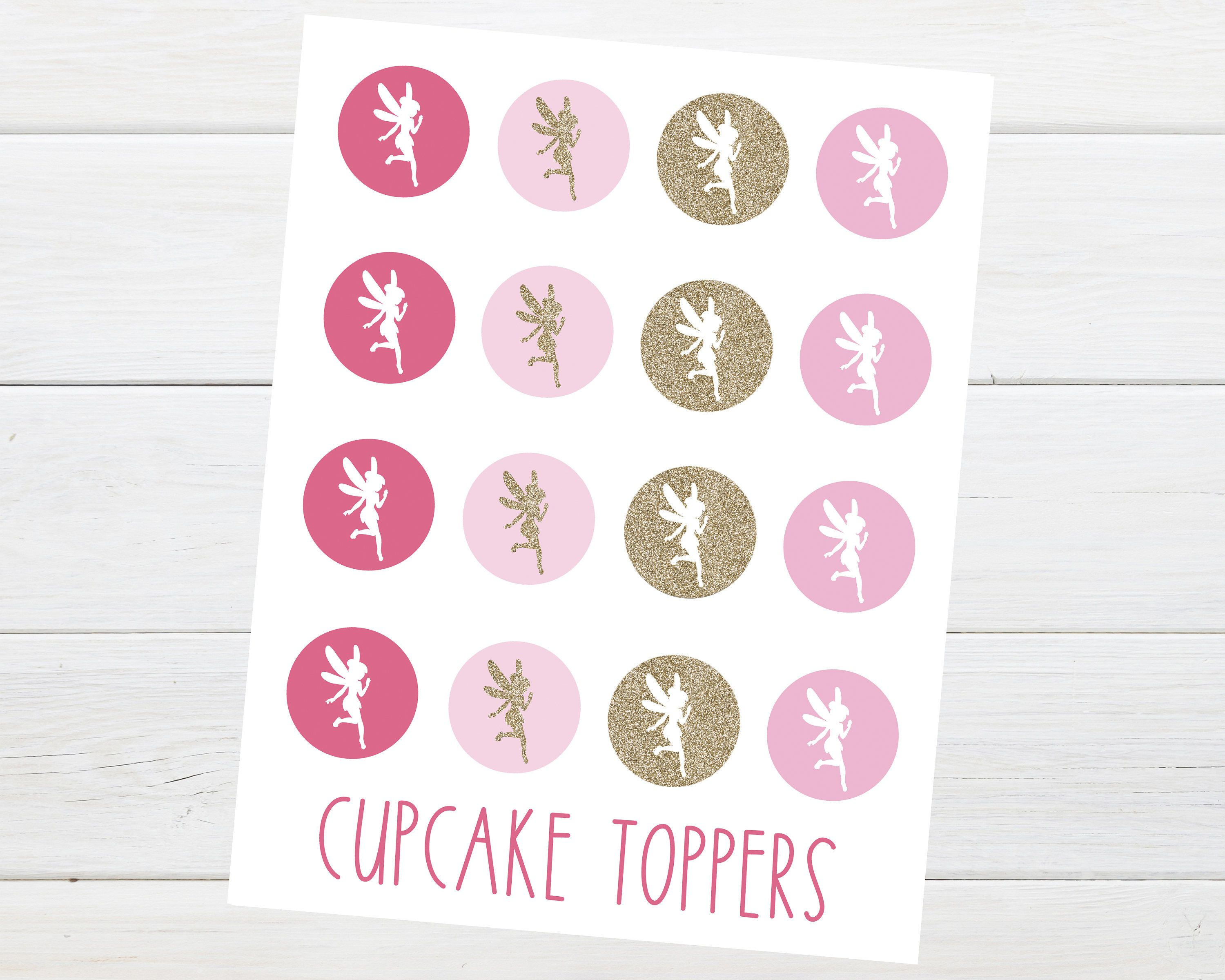 Fairy party cupcake toppers fairy birthday party invitation by fairy party cupcake toppers fairy birthday party invitation by little lemon design co on etsy pink fairy party gold fairy party pink and gold fairy filmwisefo Images