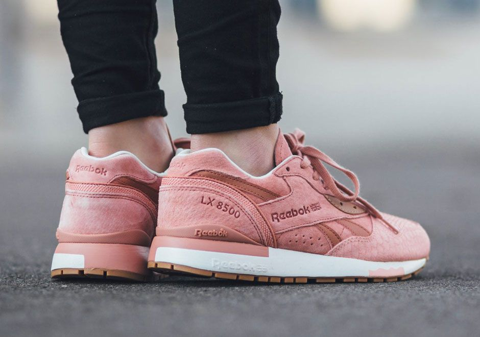 huge discount ac487 60cc3 The Reebok LX 8500 is dressed to impress with this new premium look for the  ladies