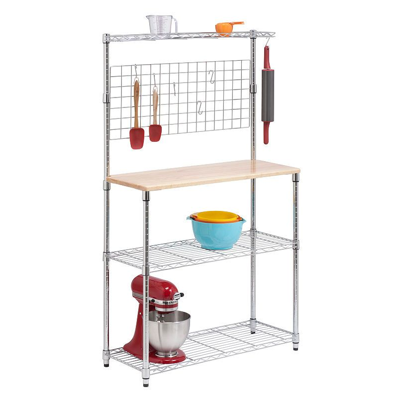 Honey Can Do 2 Shelf Bakers Rack Products In 2019 Bakers Rack