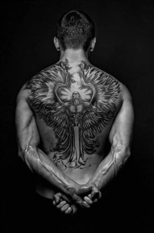 Amazing Back Devil Tattoo For Men Tattoo Pinterest Tattoos