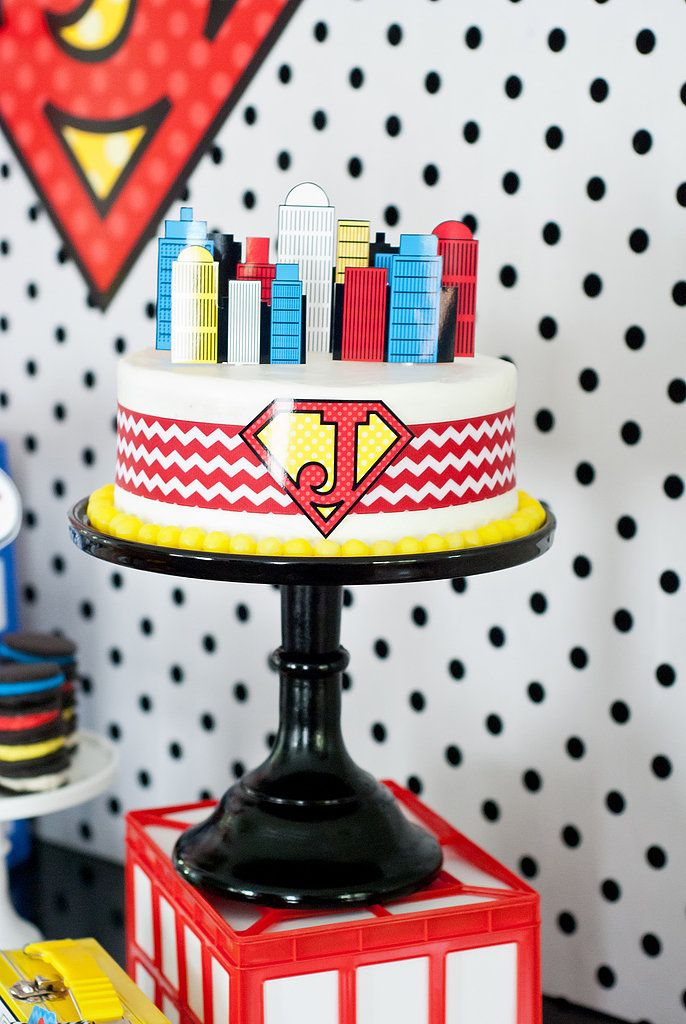 A Superhero Cake Superhero Cake Superhero And Party Planners