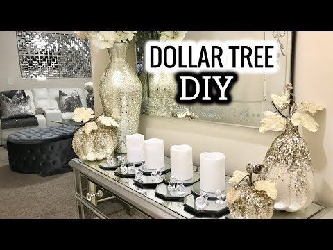 Dollar Tree Diy Mirror Table Runner Diy Home Decor Idea 2017 My Crafts And Diy Projects Table Runner Diy Dollar Tree Diy Diy Home Decor Projects