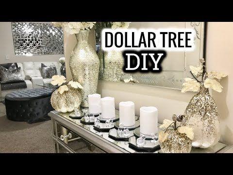 Dollar Tree DIY Mirror Table Runner | DIY Home Decor Idea 2017   YouTube