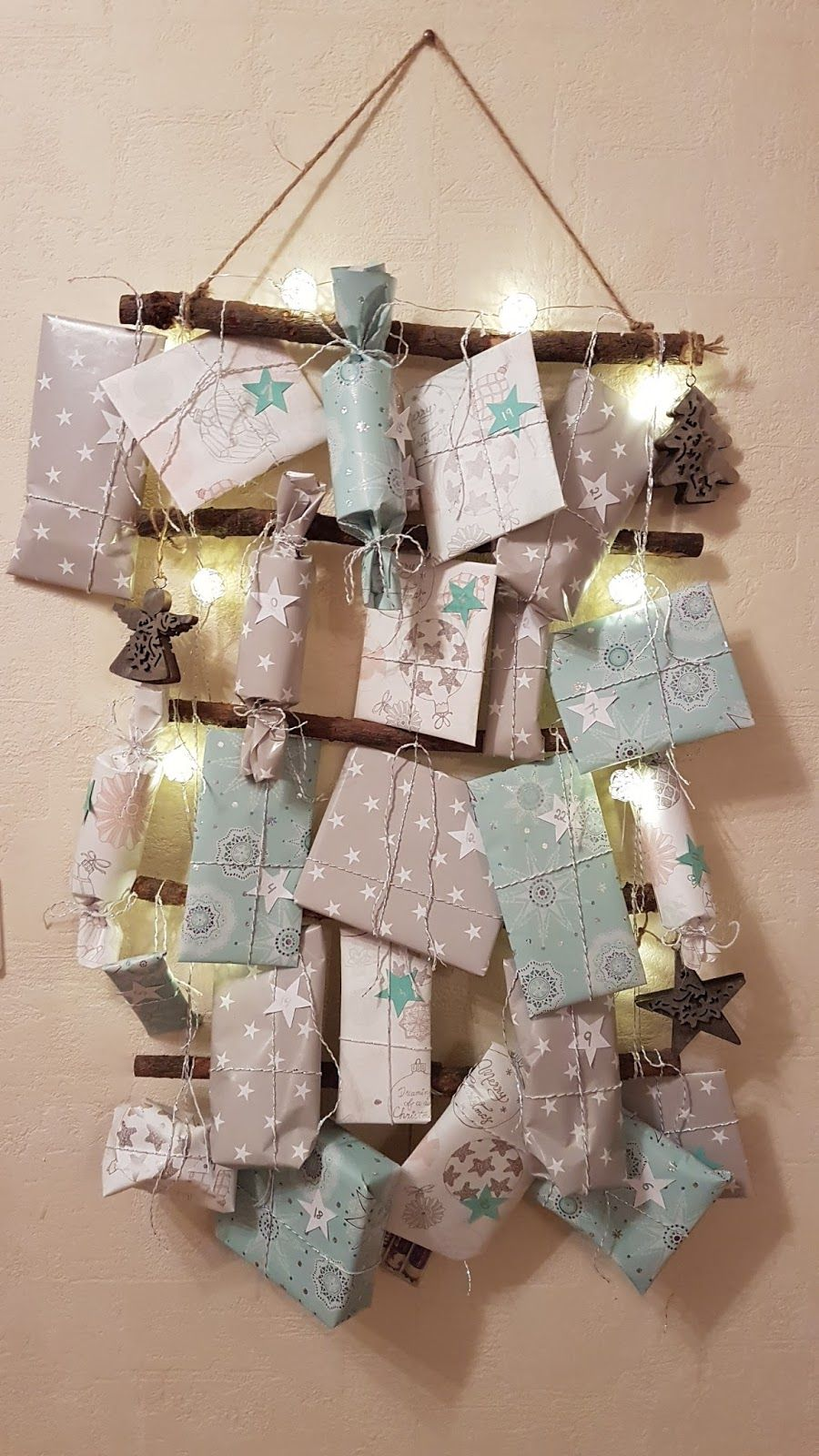 diy weihnachten adventskalender selbstgemacht basteln verpacken weihnachtszeit advent. Black Bedroom Furniture Sets. Home Design Ideas