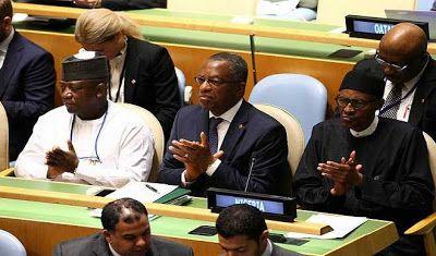 Chibok Girl Buhari Want Un A Intermediary With Boko Haram Muhammadu Ha Asked The United Nat College Application Essay Nigerian Leader Maiduguri Edward Said State