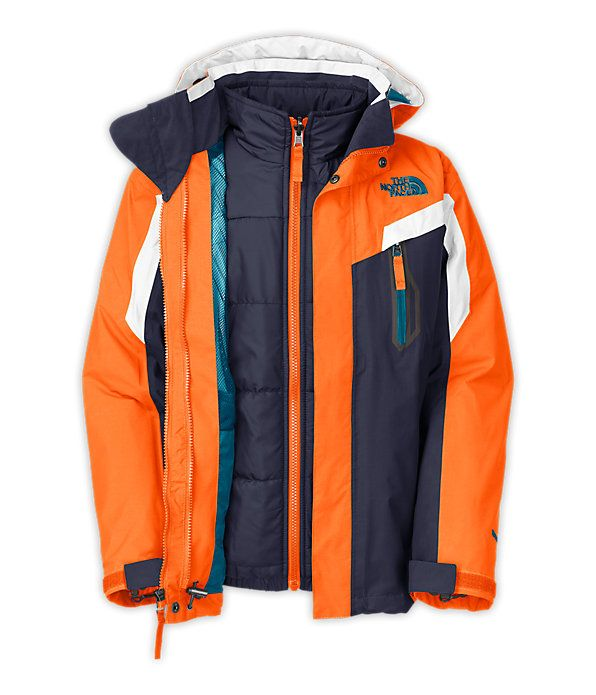 The North Face Boys Boundary Triclimate Jacket The North Face Kids Apparel Boys Little Big Kids