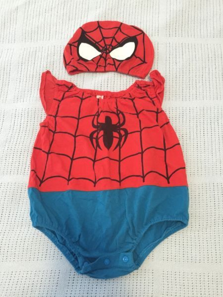 Girls Size 1 Spiderman Suit Baby Clothing Gumtree Australia Campbelltown Area Macquarie Fields 1117863767 Spiderman Suits Clothes Bikinis