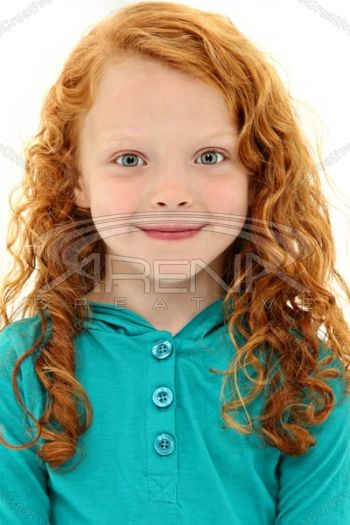 Free pictures curly redhead girl
