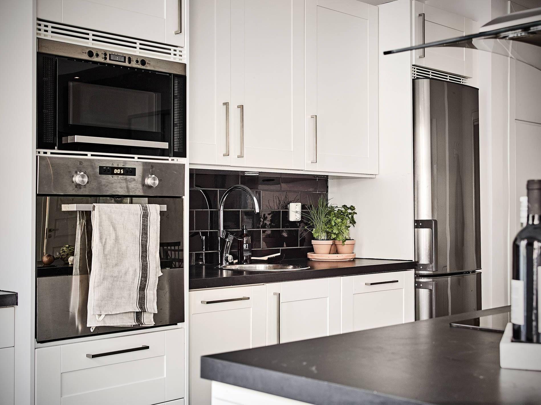 Perfecta cocina abierta | Cocinas abiertas, Cocina nórdica y Cocinas ...