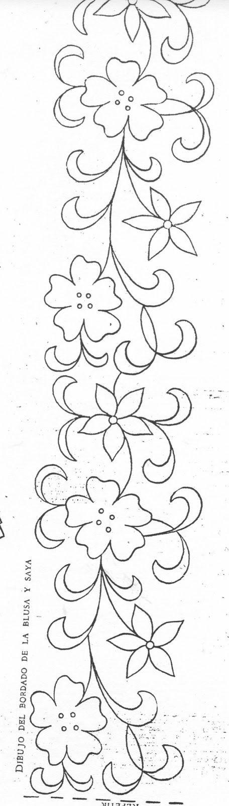 Resultado de imagen para patrones de bordado mexicano | Bricolaje y ...