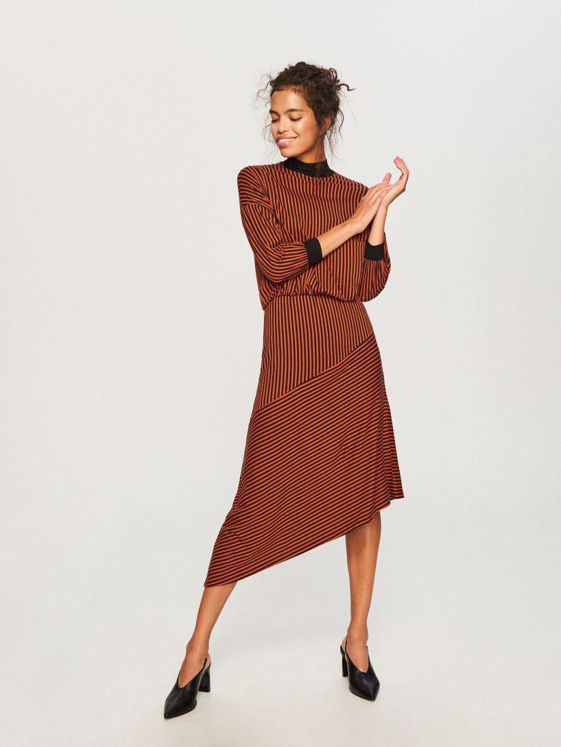 194976072ea26e Dzianinowa sukienka - wielobarwny - TY342-MLC - RESERVED | ciuchy in ...