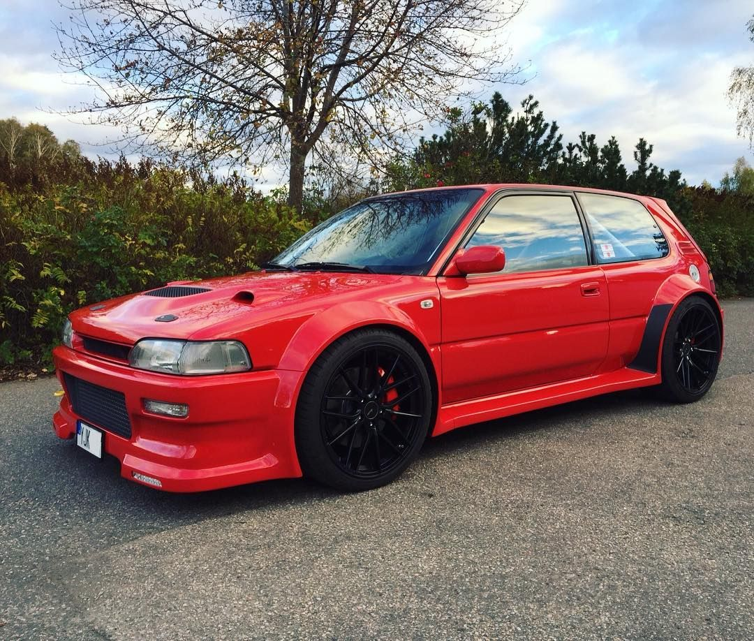 Toyota Corolla with a 2JZ-GTE Inline-Six   Cool modified cars