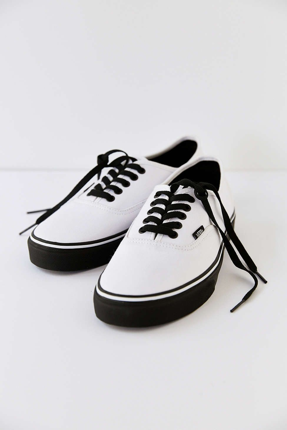 9b30081e16 Vans Authentic Black Sole Men s Sneaker