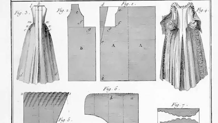 A list of free historical costume patterns including medieval ...
