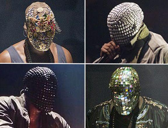 Yeezus Tour Masks Yeezus Yeezus Tour Kanye West Style