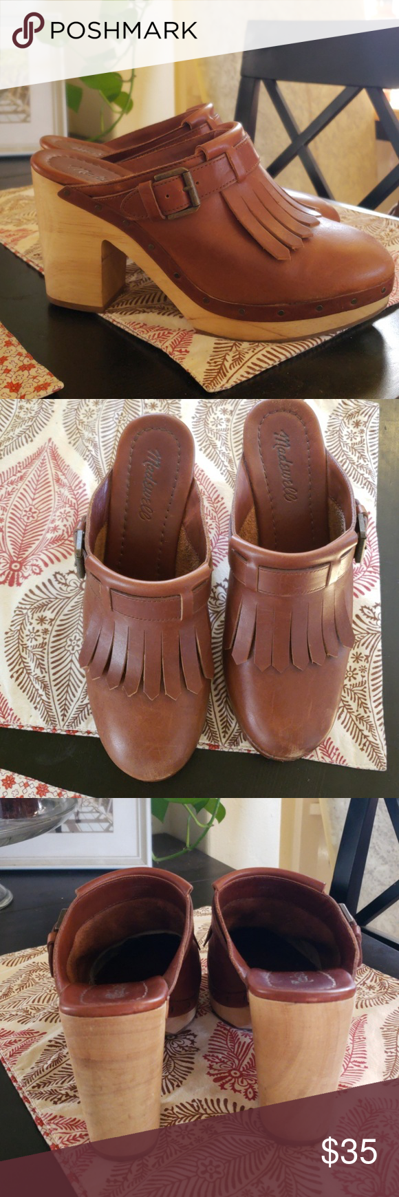 4d7a18308b16 Madewell Classic Clog Madewell the classic clog is made of rich leather