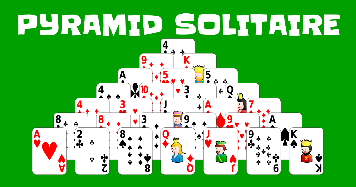 Play Pyramid Solitaire online for free. Pyramid