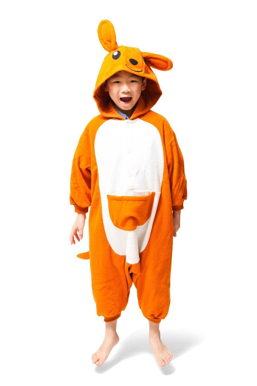 23e4756a77d4 Kids Kangaroo Kigurumi Onesie