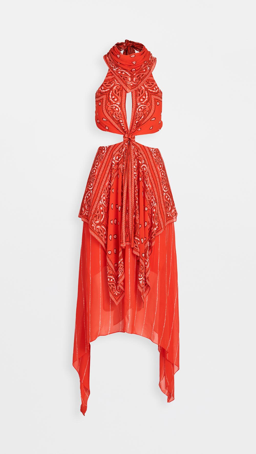 Dion Lee Bandana Knot Dress in 2020 Dresses, Designer