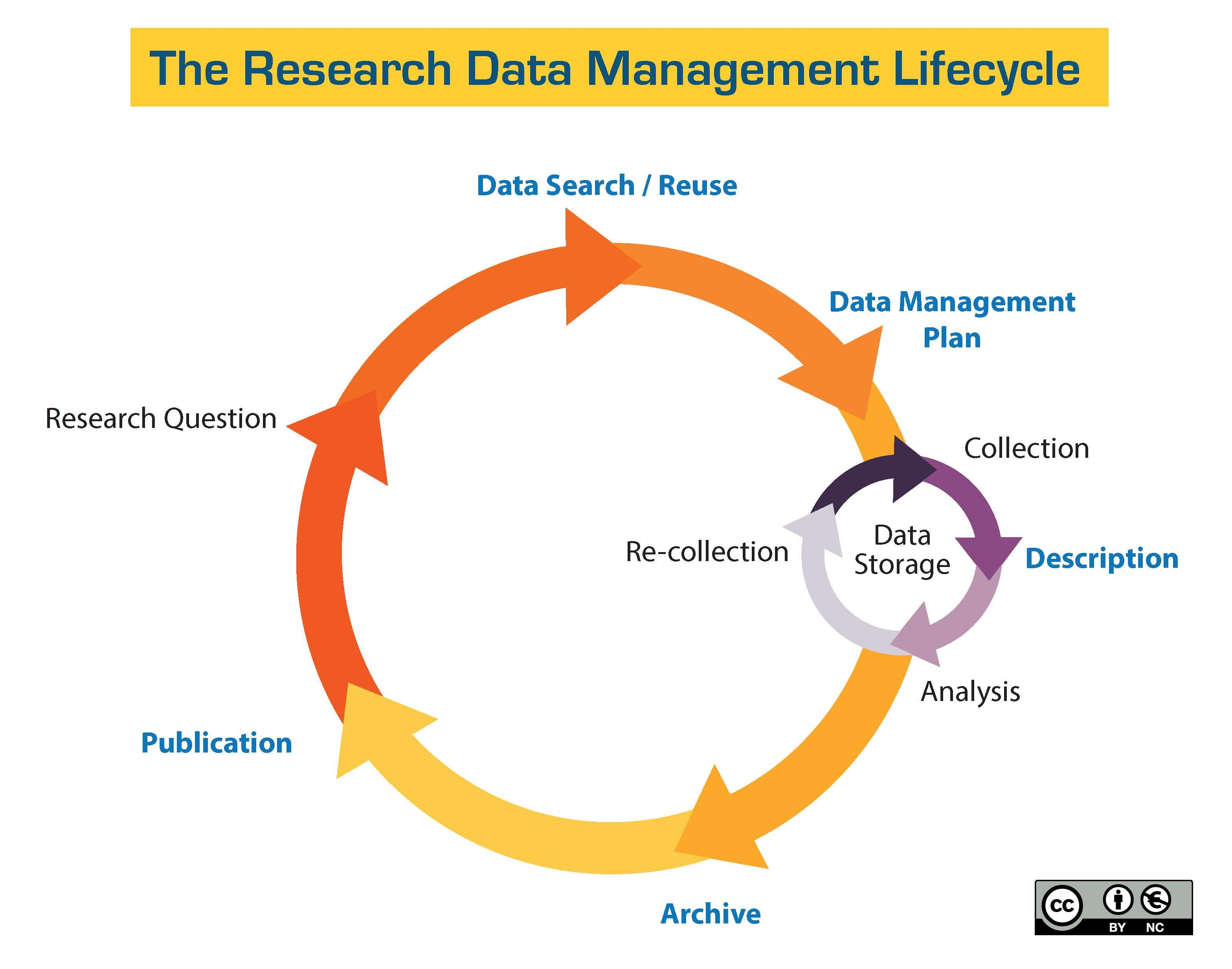 Research Data Management Lifecycle  Work    Management