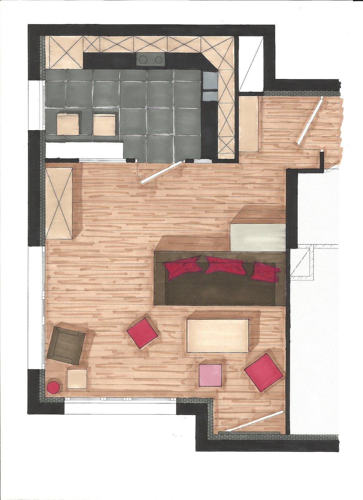 Appartement Dessin