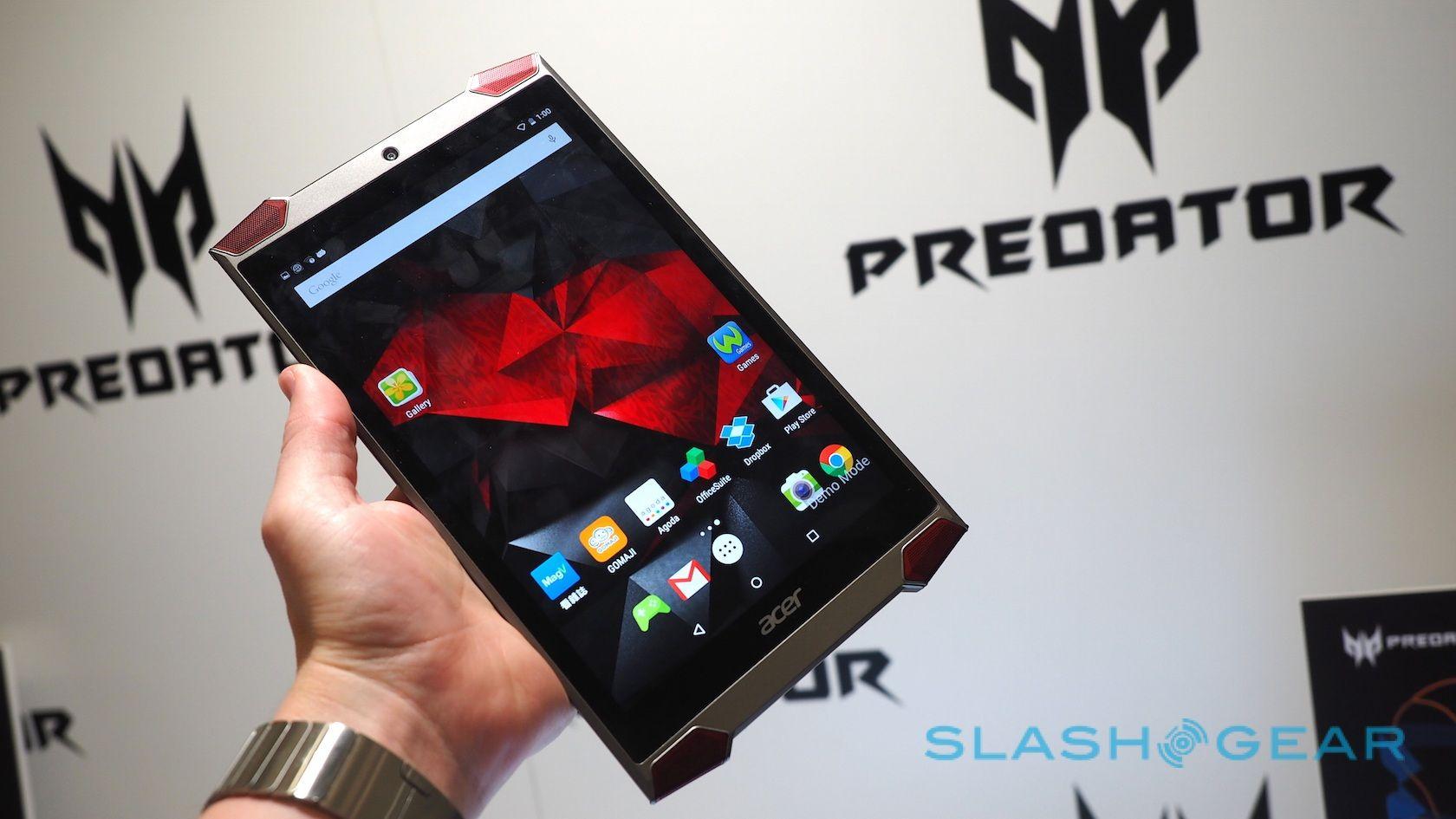 Acer targets tablet gamers with Predator 8: Hands-on - SLASH GEAR #Acer, #Predator8, #Tech
