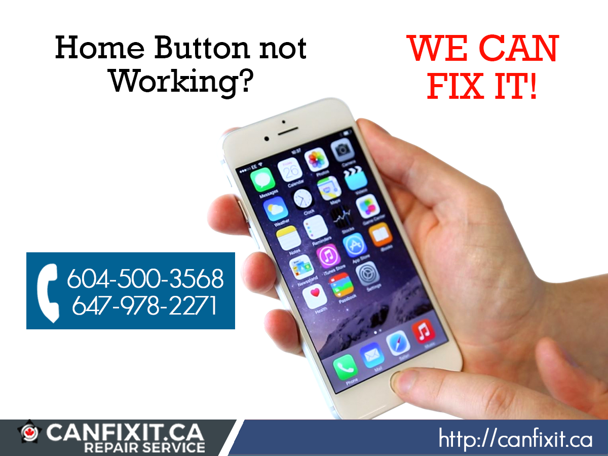 Home button not working on your iPhone? WE CAN FIX IT