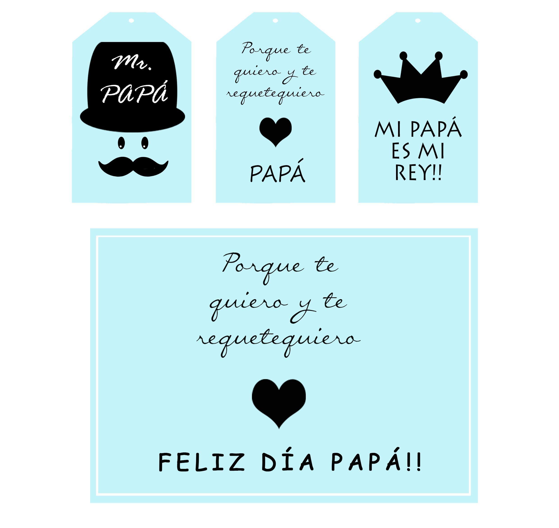 Decarga Un Imprimible Gratis Para El Dia Del Padre Feliz Dia Del